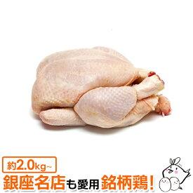 丸鶏 (中抜き 1羽) 紀州うめどり (鶏肉 1羽) 約2.0kg〜2.8kg [生 鳥肉 ローストチキン BBQに]