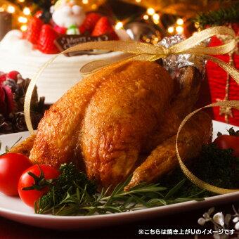 丸鶏1羽【冷凍大サイズ約2.4kg】国産鶏肉紀州うめどり丸鳥中抜きクリスマスパーティーローストチキン用