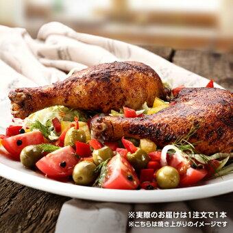 国産鶏肉紀州うめどり骨付きもも肉300g(骨付き鶏肉鶏もも肉骨付きチキン)クリスマスに