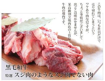 【国産】特選牛すじ1kg/焼肉用に使われる牛肉の切れ端などが入っているため柔らかい牛スジ。牛すじのような筋肉でない牛筋。すじ肉/国産牛/筋肉/牛すじ/極上牛すじ