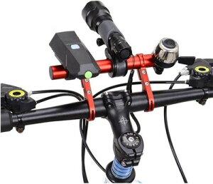自転車ハンドルバー 延長ブラケット 拡張 自転車ホルダー エクステンションマウント 自転車アクセサリー ブラケット 取付場所を増やすフレーム 軽量 アルミニウム合金 YSJ-03