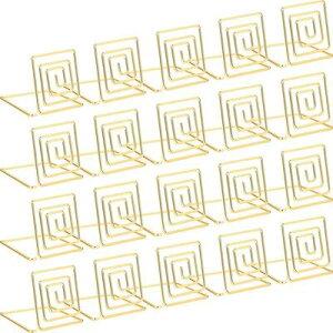 メモホルダー メモクリップ カードスタンド クリップホルダー 金属製 メモ 写真 名刺 カードを固定できる 結婚式 レストラン用 カード立て テーブル番号ホルダー 卓上 装飾 20個セット