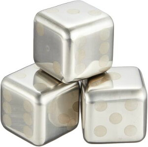 フローズンキューブ アイスキューブ FROZEN CUBE 3P FC-1081A 誕生日 プレゼント サイコロ ステンレス オシャレ 贈り物 溶けない氷 かわいい セット おしゃれ ギフト