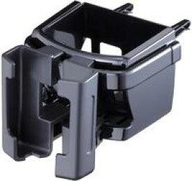 車用 ドリンクホルダー スマフォ・ドリンク同時置きタイプ Fizz スマートフォンACホルダー ブラック 500mlのペットボトル・紙パックをしっかりホールド