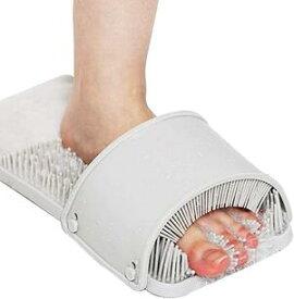 3D4Zoneケア角質とりフットブラシ 足洗いマット 不便な足洗いが楽に