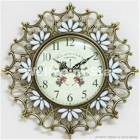 掛け時計 ローズ王冠(大) 振り子時計 壁掛け時計 おしゃれ 掛時計 北欧 時計 インテリア 振り子時計 韓国 インテリア