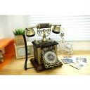 アンティーク電話機 85BA-B ヨーロッパ風 装飾電話機 プッシュ式 骨董品 インテリア電話機 クラシック レトロ調