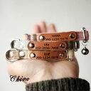 特別商品 1cm幅の犬&猫の首輪(レーザー刻印革タグ付き)