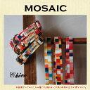 1cm&1.5cm幅カラー(犬用 首輪)MOSAIC 【オーダーメイド商品】【製作に4週間前後】【犬首輪・猫首輪】
