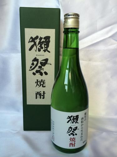 【数量限定/化粧箱付】獺祭 米焼酎 39度 720ml
