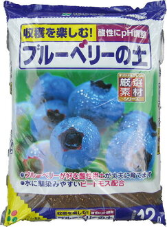 Blueberry soil 12L×4 individual immigration cases