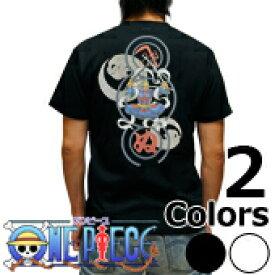 S-2497 メンズ半袖Tシャツ むかしむかし★ワンピース 毘沙門天ゾロ Tシャツ one piece 【楽ギフ_包装】