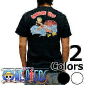 S-2539 メンズ半袖Tシャツ むかしむかし★ワンピース 波乗りゾロ Tシャツ one piece 【楽ギフ_包装】