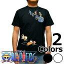 S-2557 メンズ半袖Tシャツ むかしむかし★ワンピース 鳥獣ベポ&チョッパー Tシャツ one piece 【楽ギフ_包装】