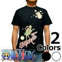 S-2760 メンズ半袖Tシャツ むかしむかし★ワンピース 梅流水ブルック Tシャツ one piece 【楽ギフ_包装】