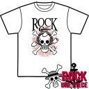 CS-2508 メンズ半袖Tシャツ ロック★ワンピース ヘッドフォンチョッパー Tシャツ one piece 【楽ギフ_包装】