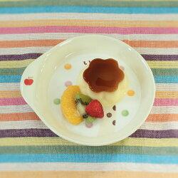 子ども食器キリンさんケーキプレート