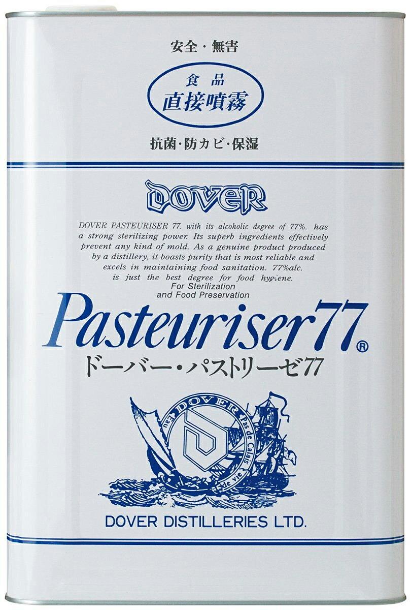 【送料無料】ドーバー パストリーゼ77 詰替用 17,200ml(15kg) アルコール消毒液 防菌 消臭 防カビ ウイルス