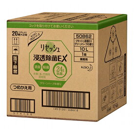 花王リセッシュ除菌EX ほのかなグリーンハーブの香り 10L【沖縄・離島は要別途送料120サイズ】