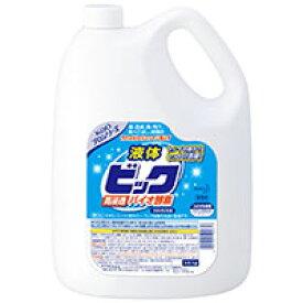 花王 液体ビック酵素配合 4.5L 業務用 洗濯洗剤