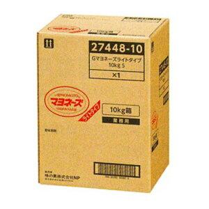 AJINOMOTO -味の素- マヨネーズ ライトタイプ 10kg 箱 業務用 【沖縄・離島は別途中継料金】