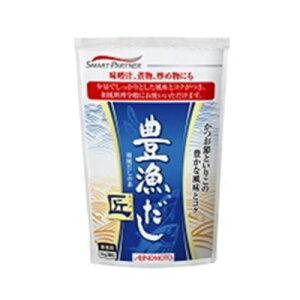 【1ケース】AJINOMOTO -味の素- 豊漁だし 匠 1kg×12袋 袋 業務用 【沖縄・離島は別途中継料金】