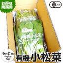小松菜 150g×10P 有機栽培 送料無料 鹿児島県産 オーガニック organic こまつな 冷蔵便