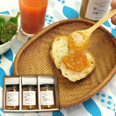 有機柑橘 マーマレード 3種セット たんかん ぽんかん しらぬい コンフィチュール 詰め合わせ 食べ比べセット 送料無料 有機JAS 無添加 ギフト