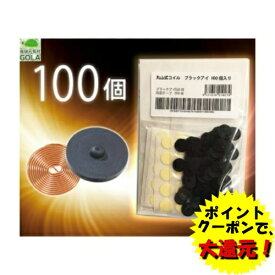 丸山式コイル ブラックアイ100個入 電磁波対策 電磁波 スポーツ