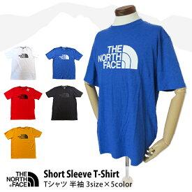 THE NORTH FACE ノースフェイス Tシャツ S/S 半袖 メンズ Men's ロゴティ ロゴT アウトドア スポーツ 通学 通勤