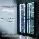 地球家具 コレクションラック DIO ディオ 対応 ガラスひな壇 単品 ( ガラス雛壇のみ ) ( ミドル幅46cm 奥行28cm用 …