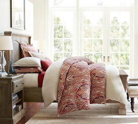 Pottery Barn ベルギー 亜麻布 リネン織 枕カバー ユーロサイズ