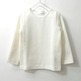 【SALE 30%OFF】WILL MERY Will Mery ウィルメリー【2020春夏】【トップス Tシャツ】花柄ジャガードTシャツ22808