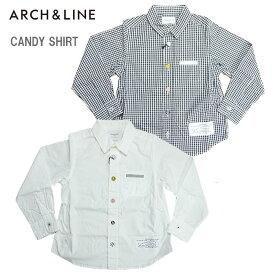 ARCH&LINE(アーチアンドライン)CANDY SHIRT(キャンディーシャツ)-2101【95cm〜150cm】【メール便OK】