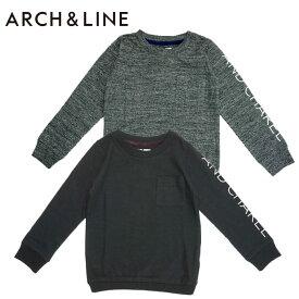 "【SALE30%OFF】ARCH&LINE(アーチアンドライン) SLUB L/S TEE""ANDCHARE""(長袖Tシャツ)-2349【85cm〜155cm】【メール便OK】"
