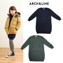ARCH&LINE(アーチアンドライン)POCKETKNITDRESS-2204【125cm〜150cm】【宅配便】