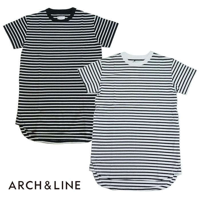 【SALE30%OFF】ARCH&LINE(アーチアンドライン)FORM LONG TEE-1347(ロング丈Tシャツ)【115cm〜150cm】【宅配便】