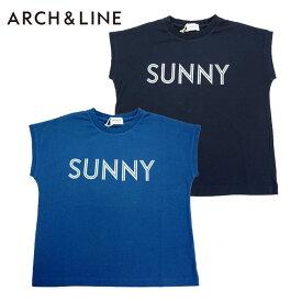 (SALE 30%OFF)ARCH&LINE(アーチアンドライン)OG DROPPED SHOULDER SUNNY TEE(半袖Tシャツ)-1347【145cm〜165cm】【メール便OK】