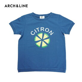 (SALE 30%OFF)ARCH&LINE(アーチアンドライン)OG CITRON? TEE(半袖Tシャツ)-1352【115cm〜145cm】【メール便OK】