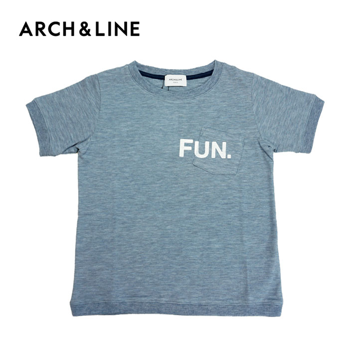 ARCH&LINE(アーチアンドライン)VINTAGE LIKE FUN PK TEE(半袖Tシャツ)-1315【115cm〜145cm】【メール便OK】