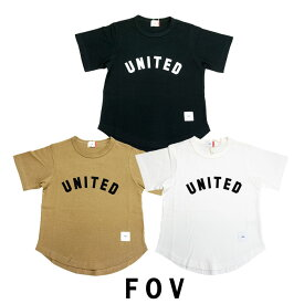 ジェネレーター【GENERATOR】FOV(フォブ)UNITED半袖Tシャツ-7404【90〜160cm】【メール便OK】