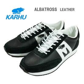 (SALE)【正規品】KARHU(カルフ)ALBATROSS アルバトロス スニーカーLEATHER(レザー)B/W【4〜7】【レディース】【宅配便】