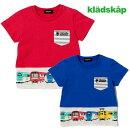 kladskap(クレードスコープ)GO裾に電車半袖Tシャツ-2203【100cm|110cm|120cm】【メール便OK】