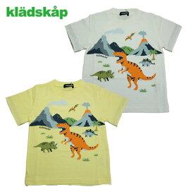 (30%OFF SALE)【夏】kladskap(クレードスコープ) 恐竜の世界半袖Tシャツ-2216【90cm〜120cm】【メール便OK】