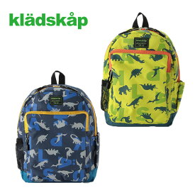 (20ss) kladskap(クレードスコープ)恐竜×アルファベットロゴ総柄リュック-1413【SS|S】【宅配便】