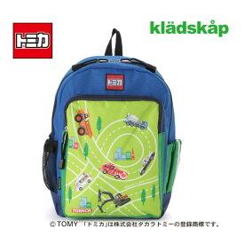 (20ss) kladskap(クレードスコープ)【トミカコラボ】 乗り物いっぱいリュック-1429【S】【宅配便】