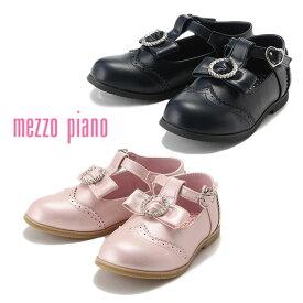 (SALE 50%OFF)mezzo piano(メゾピアノ)Tストラップシューズ-3421【20cm|21cm|22cm】【宅配便】
