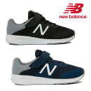 【正規品】NewBalance(ニューバランス)PREMUSYスニーカー【17〜24cm】(ネイビー/ブラック)【宅配便】