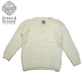 【SALE20%OFF】OCEAN&GROUND(オーシャン&グラウンド)シャギーセーター-6404【90〜140cm】【宅配便】