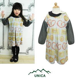 【SALE50%OFF】UNICA(ユニカ)ビスケット柄ワンピース-0159【80〜120cm】【宅配便】